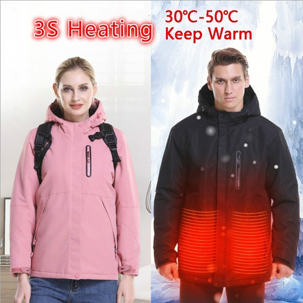 waterproofjacket, heatingcoat, Winter, softshelljacket