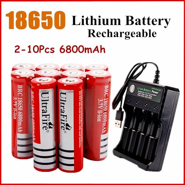 Flashlight, 18650battery, liionbattery, External Battery