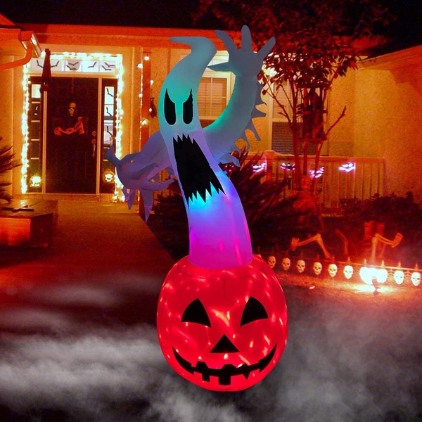 pumpkinghost, Outdoor, art, indooroutdoorholidayartdecordecoration