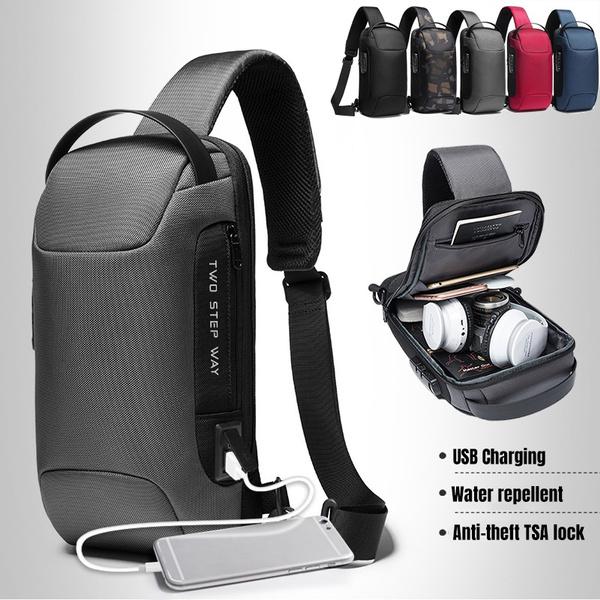 Shoulder Bags, antitheftbackpack, usb, Waterproof