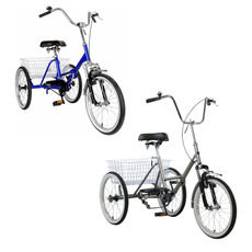 Bikes, blueadulttricycle, Bicycle, Sports & Outdoors