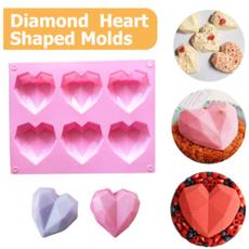 pink, Heart, DIAMOND, Love
