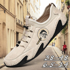 casual shoes, Flats & Oxfords, softcomfortable, casual leather shoes