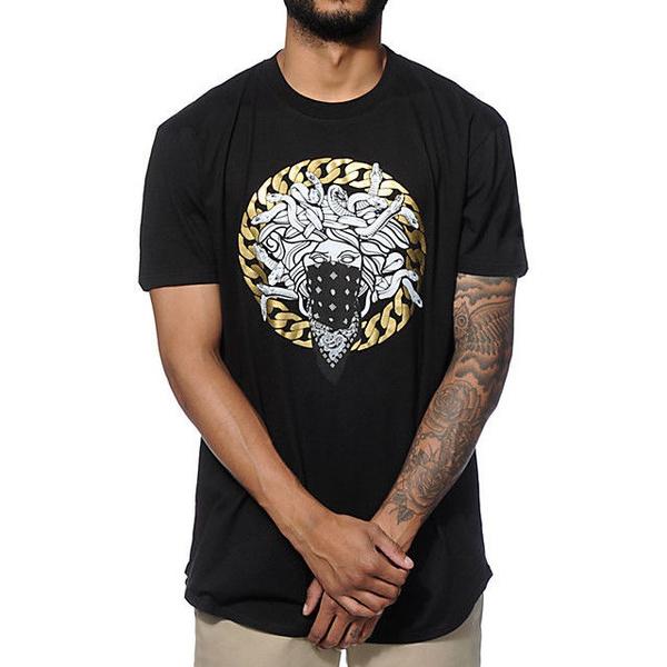 T Shirts, Shorts, black, Shirt