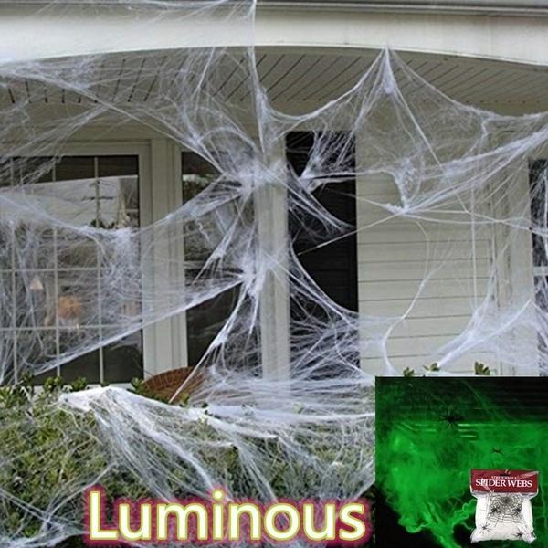 thrilling, Garden, house, Halloween