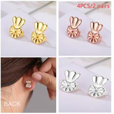 Stud, earlifter, womensearsticker, Silver Earrings