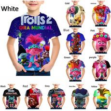 Summer, children3dtshirt, trollstshirt, Casual