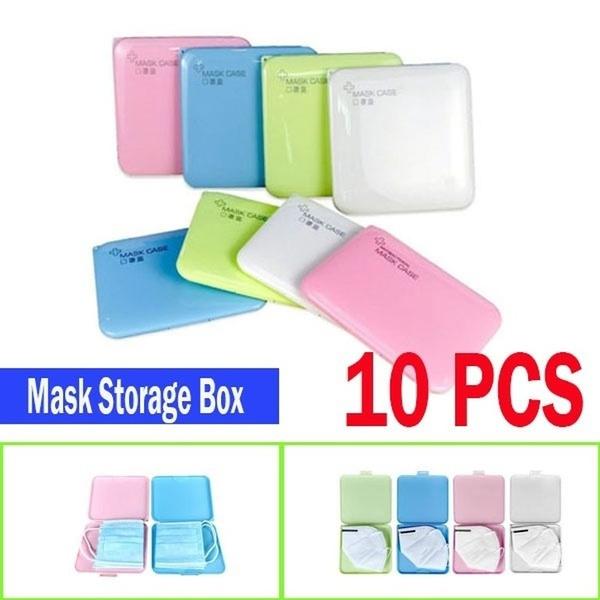 Box, Foldable, portable, Masks
