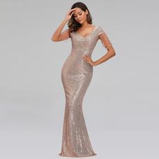 promgown, Evening Dress, Vestidos, Beading