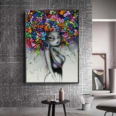 canvasprint, Modern, living room, Home Decor