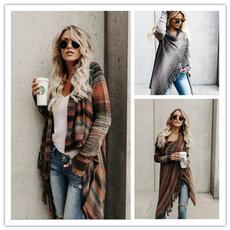 Tassels, cardigan, Winter, Coat