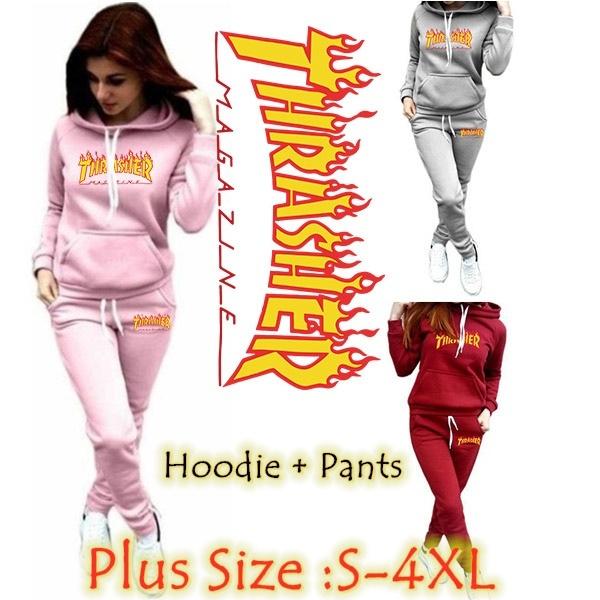 Two-Piece Suits, Sleeve, hoodies for women, tracksuits sportswear women