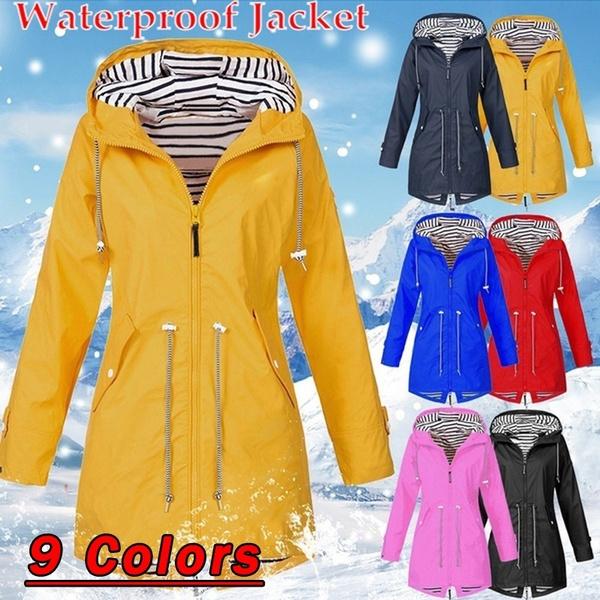 womenwindbreaker, Casual Jackets, waterproofcoat, Outdoor