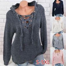 cute, Women Sweater, Lace, Sleeve