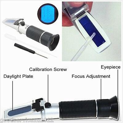glycolrefractometer, enginecoolanttester, portable, batteryacidliquidtester