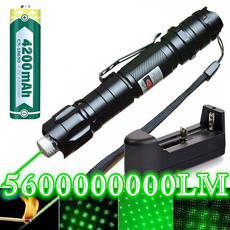 Flashlight, charger, bluelaser, laserlight