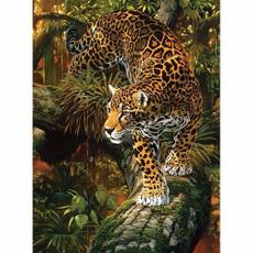 DIAMOND, art, Home Decor, Leopard