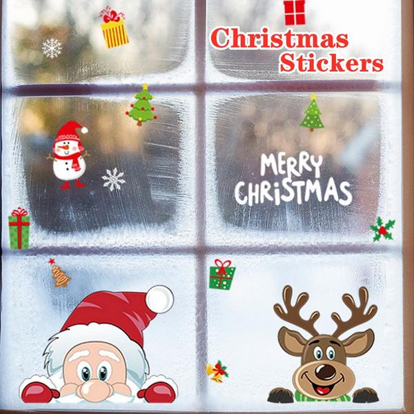 novelsticker, Christmas, Gifts, christmaswindowcling