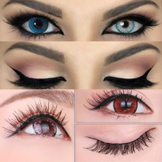 maquillage, pestaña, Fashion, eye