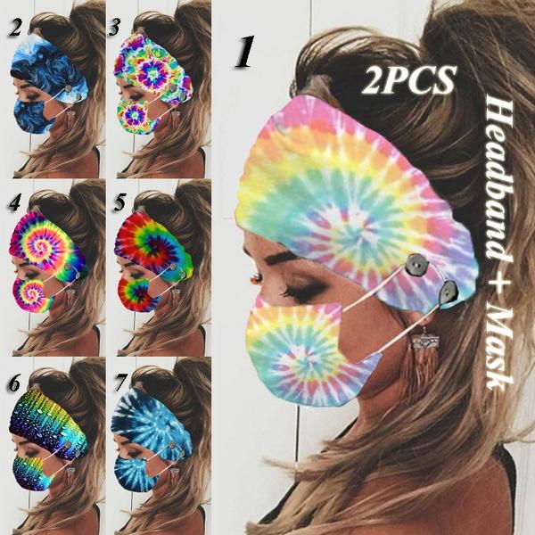 headbandandmask, facemaskholder, Beauty, Head Bands