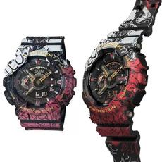 Waterproof, onepiece, Watch, dualdisplayelectronicwatch