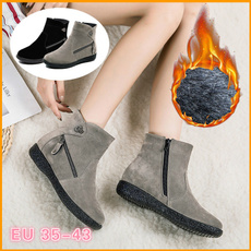 ankleampshortboot, ankle boots, Shorts, flat shoe
