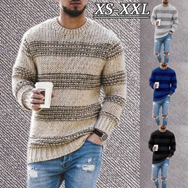 knitted, pullovermen, Fashion, Winter