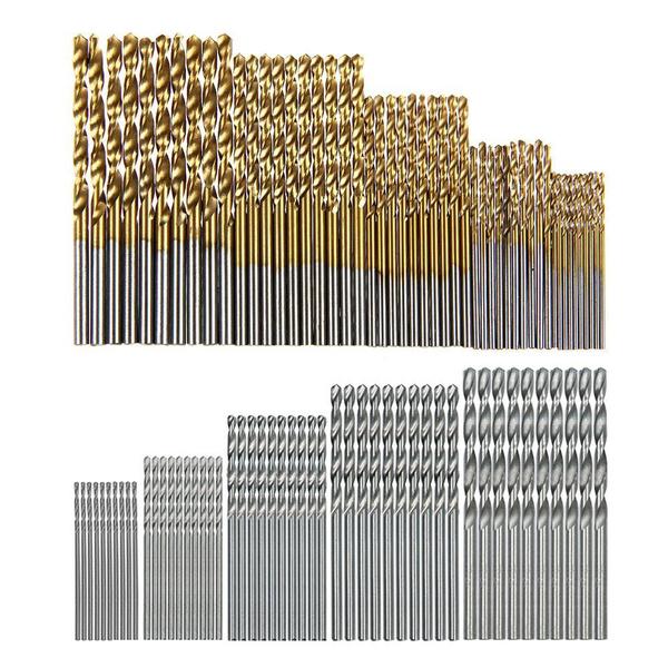 hssdrillbitset, metalworkingdrill, twistdrill, woodworkingdrillbit