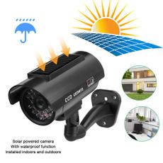 led, solarpoweredcamera, Waterproof, ledfakecamera