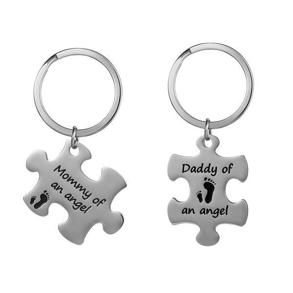 babymemorialgift, Key Chain, Gifts, Angel