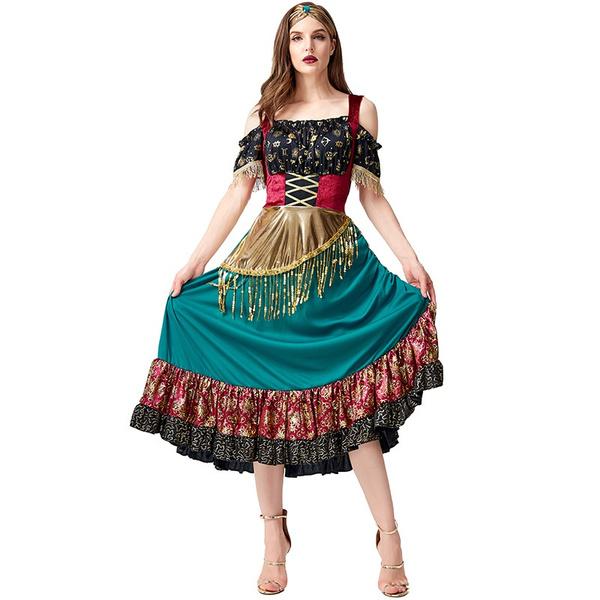 bohemia, flamencoclothing, Halloween Costume, Dress