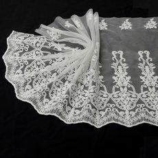 Head, Lace, Dress, Sewing