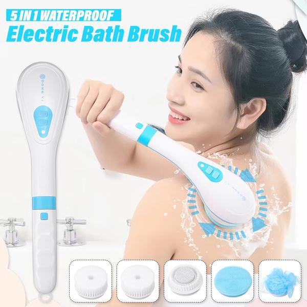 Shower, Electric, longhandlebrush, Exfoliating Brush