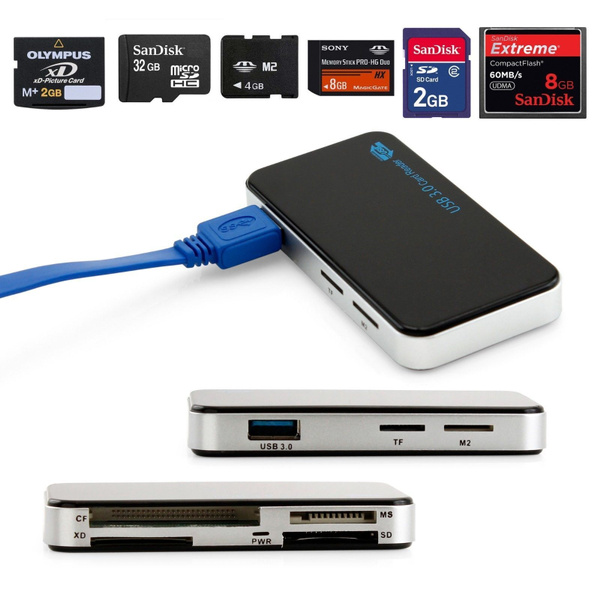 Card Reader, usb, Adapter, microsd