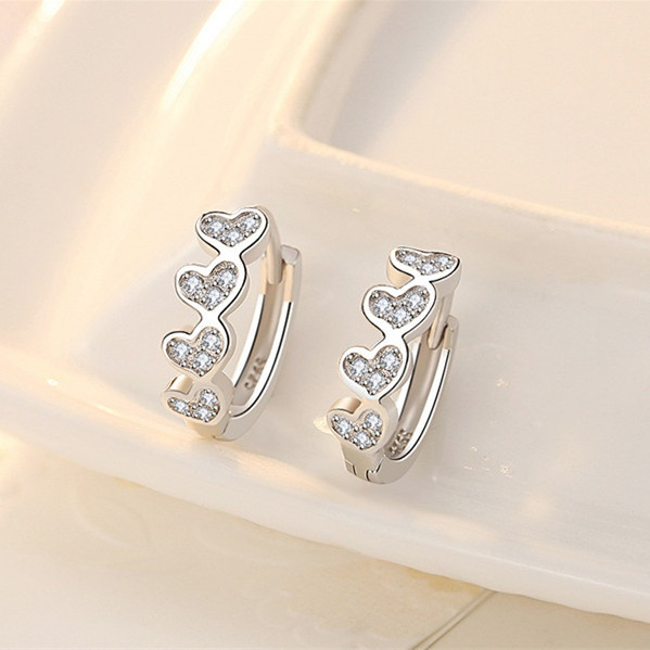earringforwomen, Sterling, DIAMOND, women's earrings