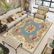 Rugs & Carpets, Modern, bohemianstylerug, mandalaflower3dprintedcarpet