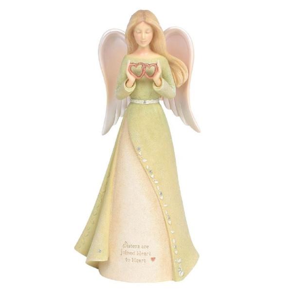 foundation, Figurine, Angel, Heart
