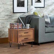 Walnuts, nighttable, bedroom, nightstand