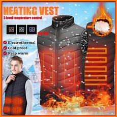 Vest, heatedjacket, Electric, winter coat