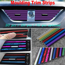 Trim, vehiclemountedairoutletdecorativestrip, interiortrimstrip, Cars