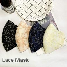 Cotton, womenmask, dustmask, Lace