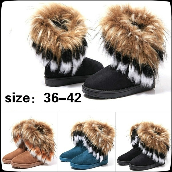 ankle boots, Fashion, fur, leather