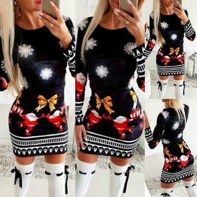 Mini, Plus Size, Christmas, Sleeve