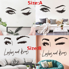 wallstickersampmural, Decor, eye, Beauty