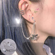 butterfly, gothicearring, Goth, Dangle Earring