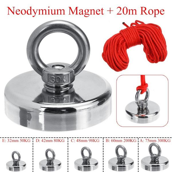 cuboidmagnet, eyebolt, strongmagnet, Metal