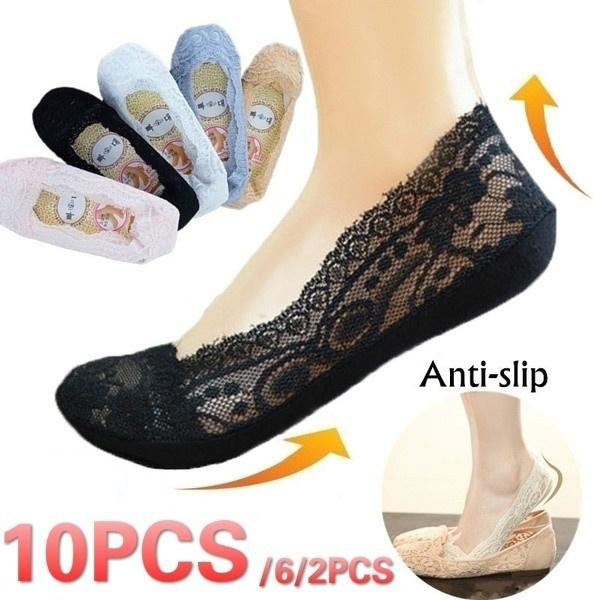 Cotton Socks, crystalsock, Lace, socksforwomen