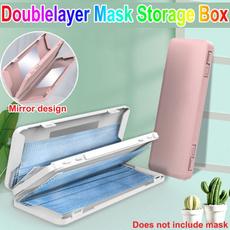 Box, Storage Box, Storage, Masks