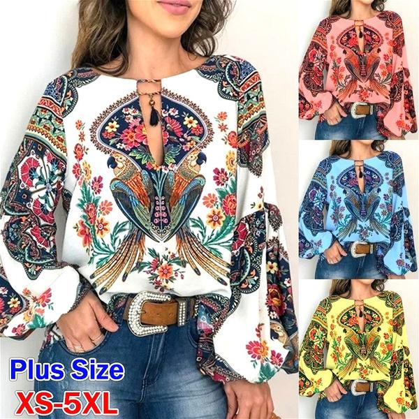 Vintage, Plus Size, Shirt, Sleeve