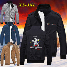 Stand Collar, Outdoor, Coat, Fashion